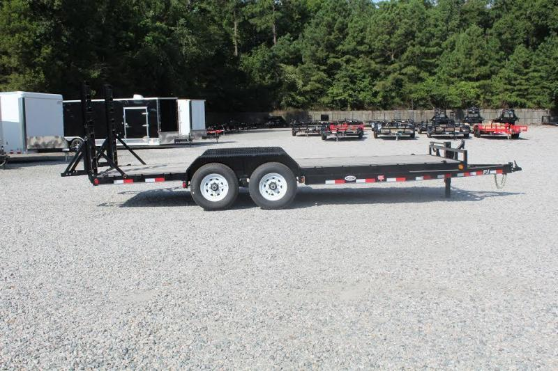 2018 PJ Trailers 18ft CC 14K w/ Fold Up Ramps