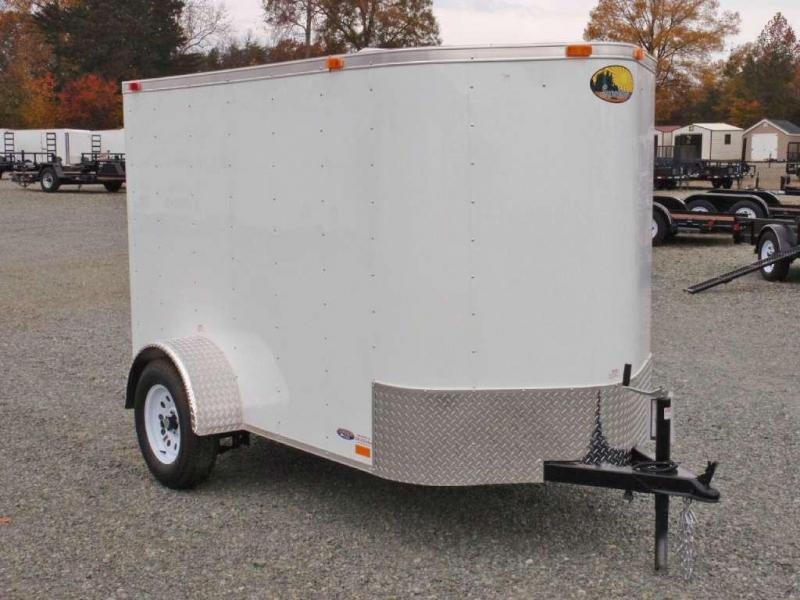 2018 Continental Cargo 5x8 w/ Double Rear Door