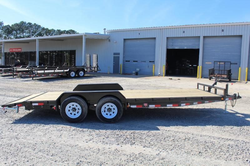 2017 PJ Trailers 20ft CE 10K Equipment Trailer w/Slide-In Ramps