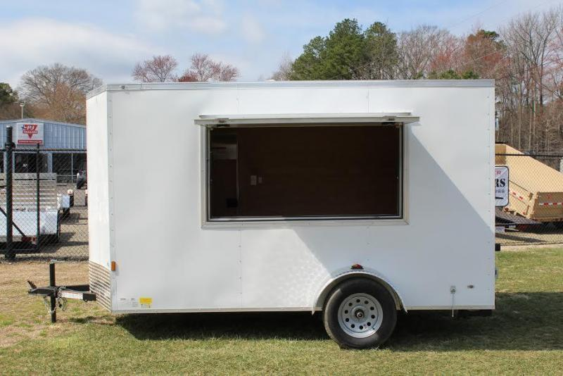 2018 Continental Cargo 6x12 Vending /Concession Trailer