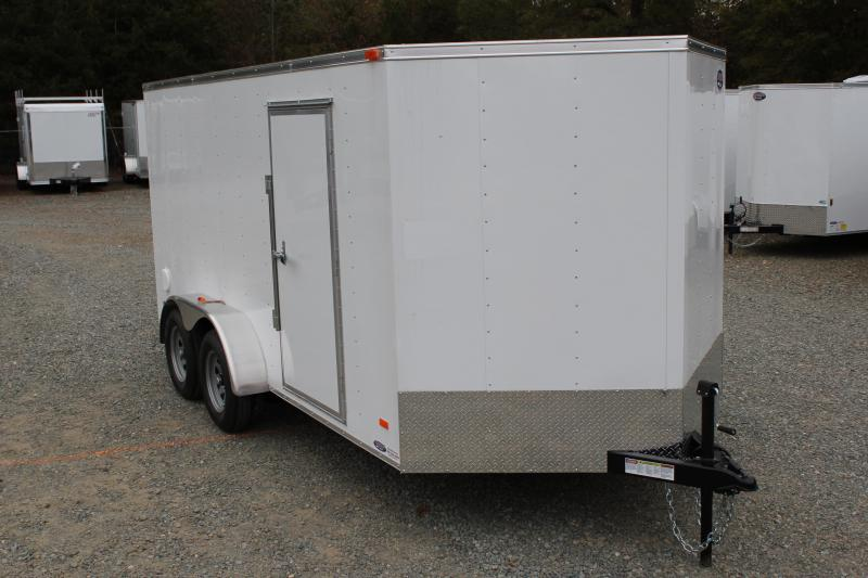 2018 Bravo Hero 7x14 w/ Ramp Door