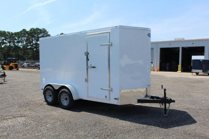 2020 Haulmark Passport 6x12 7K w/ Double Doors