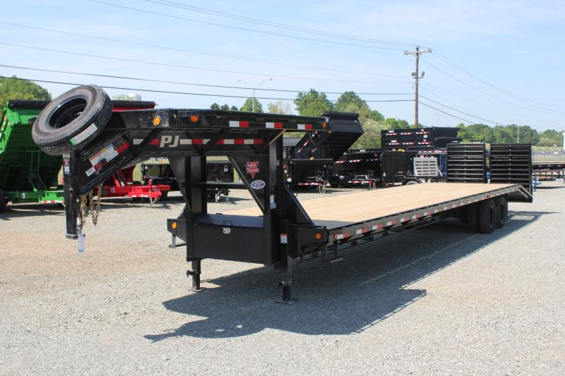 2019 PJ 40 FD Gooseneck w/ 12K Axles & Monster Ramps