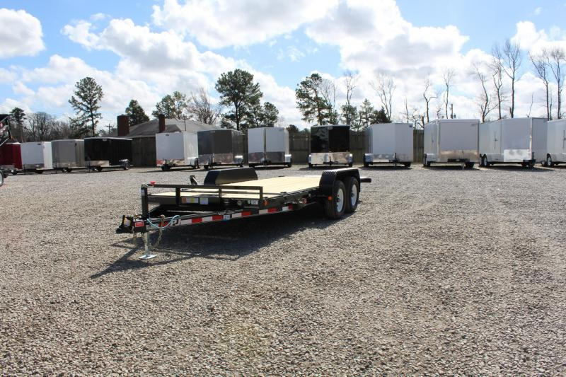2017 PJ Trailers 18ft T5 Tilt 10K Equipment Trailers