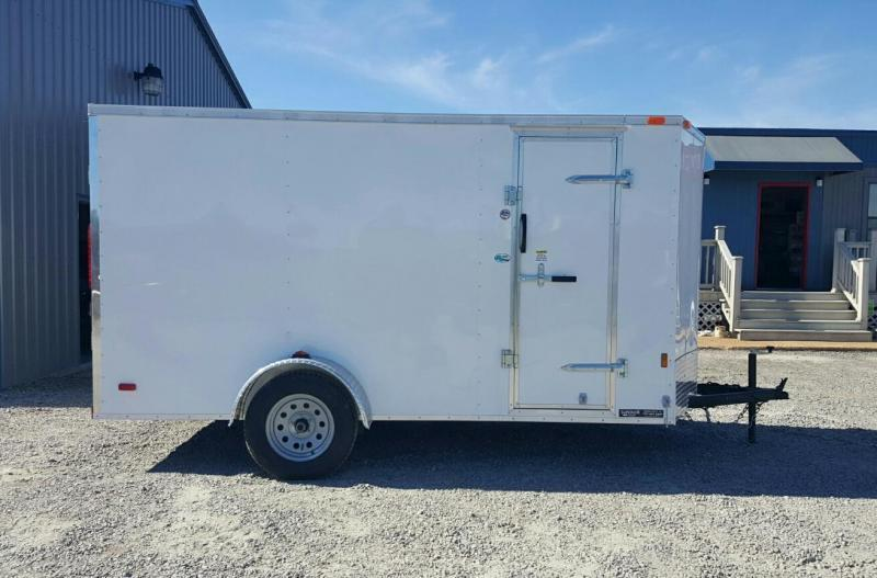 2018 Continental Cargo 6X12 Special w/Ramp Door