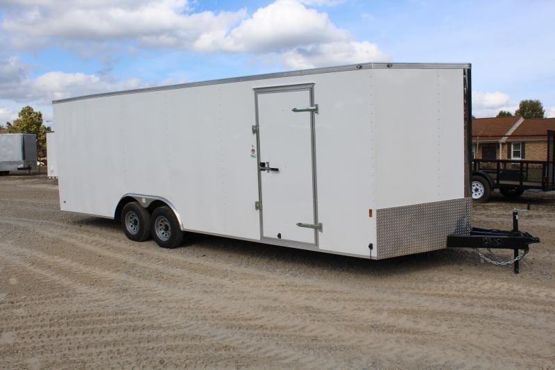 2020 Continental Cargo 8.5X24 10K Enclosed Car Trailer