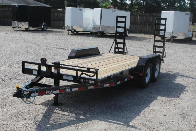 2020 PJ Trailers 18ft CC 14K w/Fold Up Ramps
