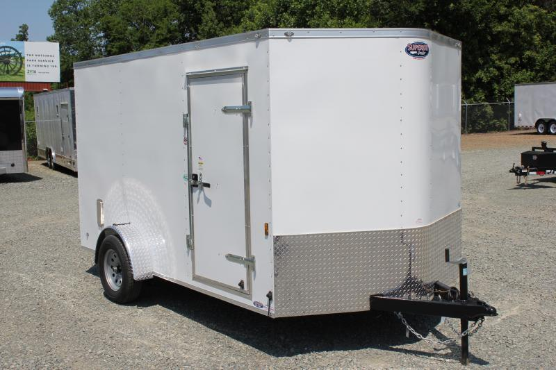 2018 Continental Cargo 7x12 w/ Ramp Door
