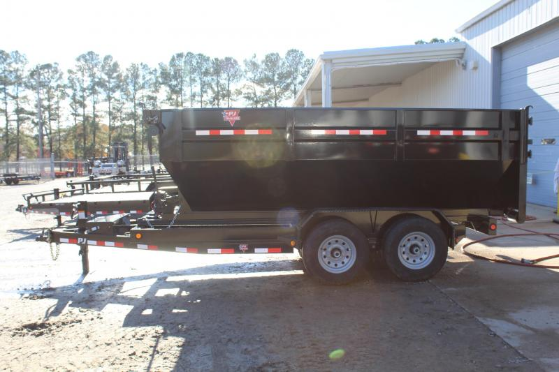 2017 PJ Trailers 7X14 DR Roll Off Dumpster Trailer