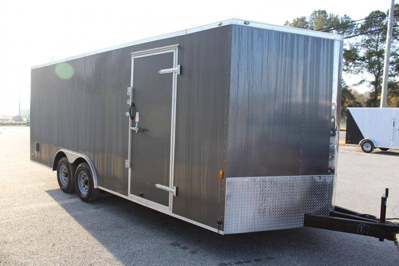 2018 Continental Cargo 8.5X20 10K w/ Ramp Door