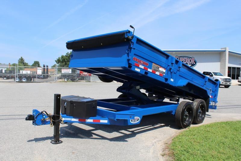 2019 Midsota HV-16 7x16 16K Tandem Axle Dump Trailer