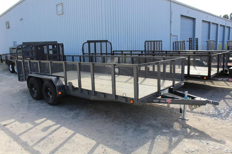 2018 PJ Trailers 18ft UL 10K Utility Trailer