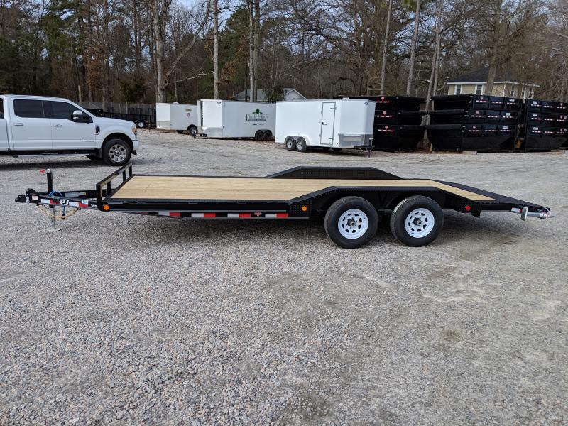 2019 PJ 20ft B5 10K w/ Rear Slide in Ramps
