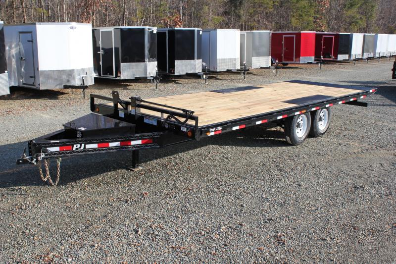 2018 PJ Trailers 22ft T8 Deckover Tilt