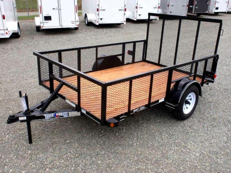 2017 Texas Bragg 6x10P 2ft Expanded Sides Utility Trailer w/ Tailgate