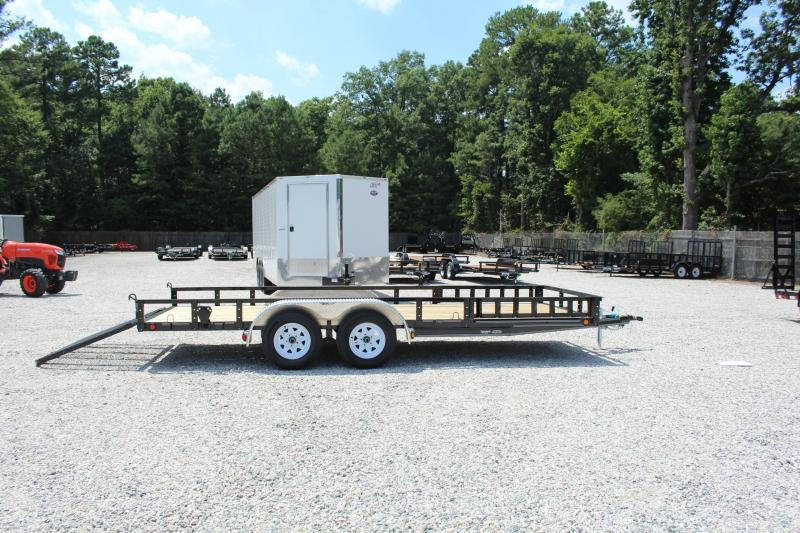 2018 PJ Trailers 18ft UK 7K Utility Trailer