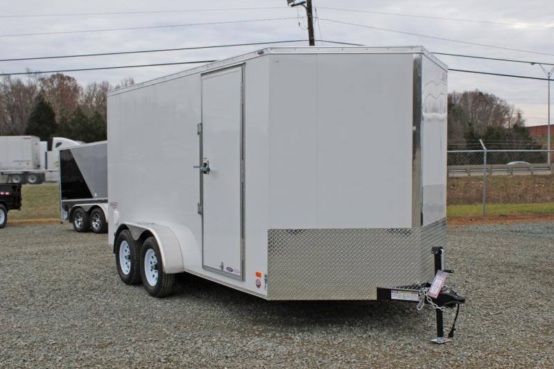 2018 Bravo Scout 7x14 w/ Ramp Door