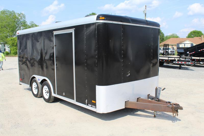 2007 Pace American Pace 8x16 Enclosed Cargo Trailer