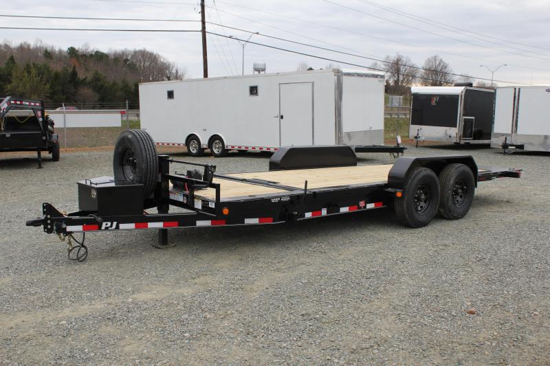 2017 PJ Trailers 20ft TJ 16K Tilt w/ Winch