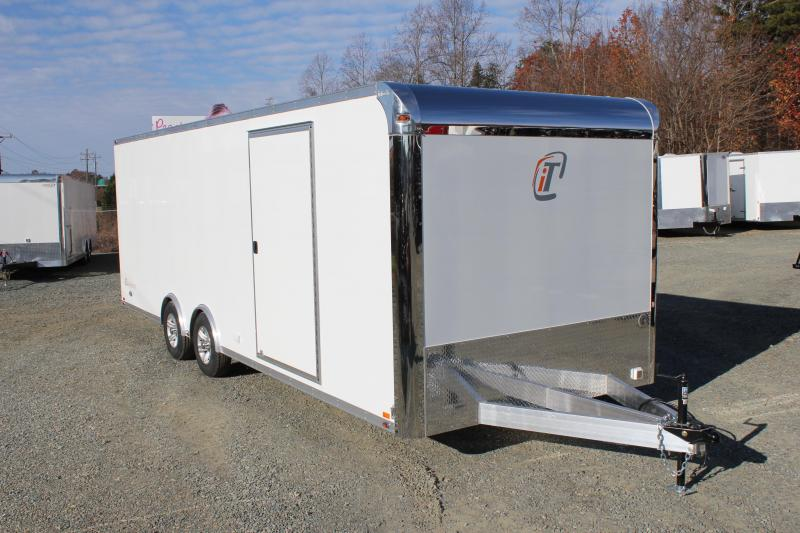 2017 inTech 8.5 x 24 10K ALUMINUM FRAME LOADED Trailer