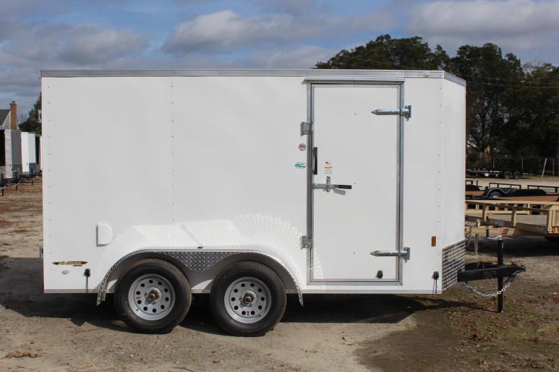 2019 Continental Cargo 6x12 7K w/ Double Door