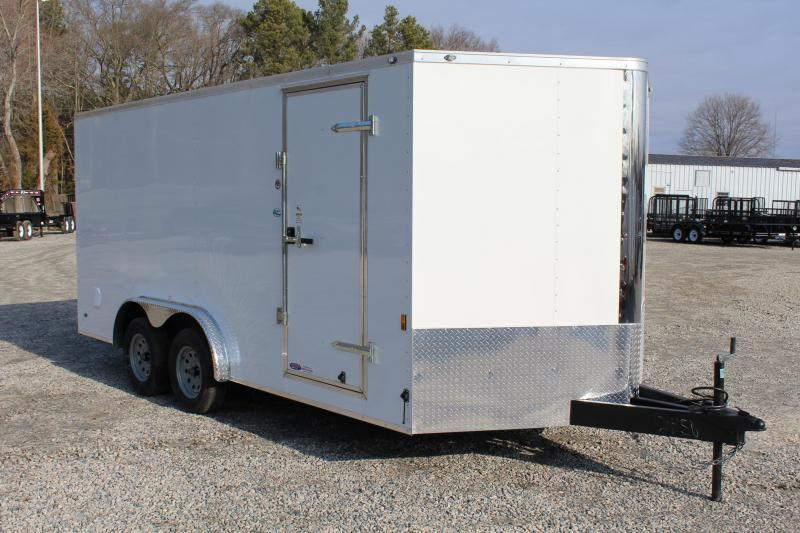2018 Continental Cargo 8X16 w/Ramp Door
