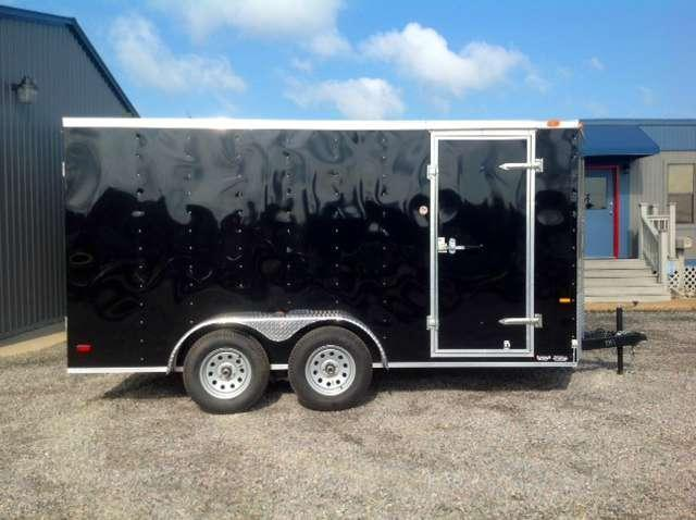 2019 Continental Cargo 7X14 Cargo / Enclosed Trailer