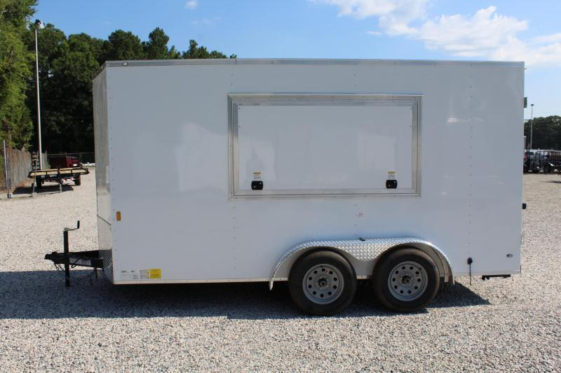 2018 Continental Cargo 7X14 Concession Trailer