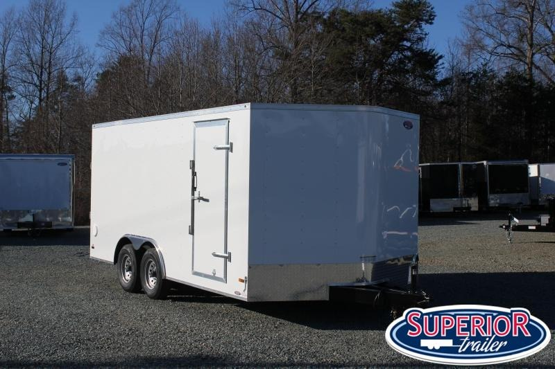 2020 Haulmark Passport 8.5x16 10K  w/ Ramp Door