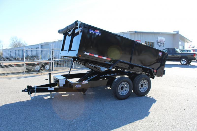 2020 Hawke 7x12 12K Dump  w/ 3' Sides Ramps and Tarp