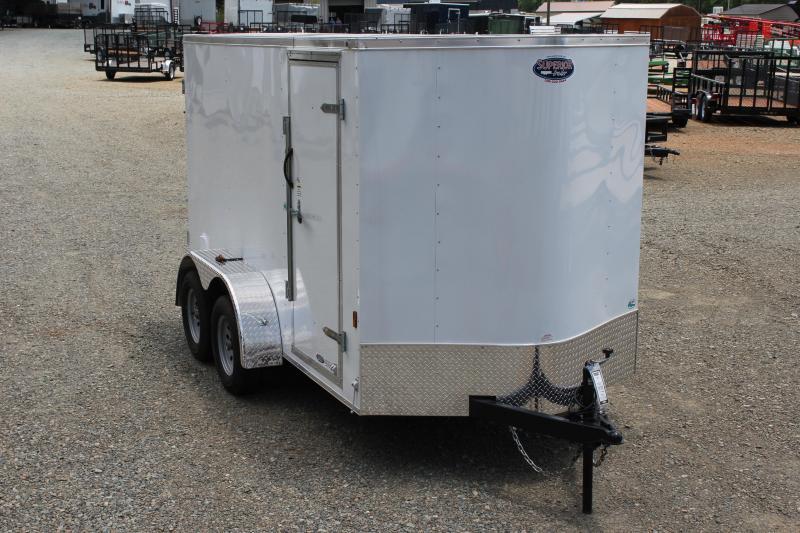 2018 Continental Cargo 6x12 7K w/ Double Door