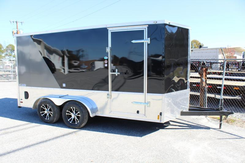 2019 Continental Cargo 7X14 Tailwind LOADED Motorcycle Trailer