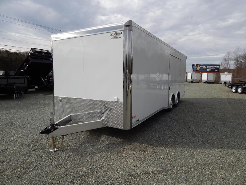 2019 Bravo ALUMINUM Silver Star 8.5X24 10K w/ Full Escape Door