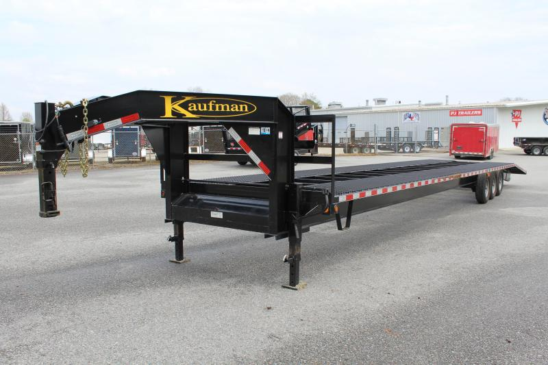 Used 2019 Kaufman 42ft Gooseneck Car Hauler