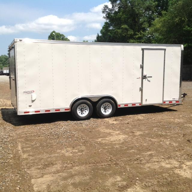 2017 Bravo Trailer Star 8.5X20 10K w/ Ramp