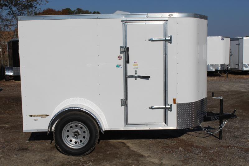 2020 Continental Cargo 5X8 w/Double Rear Doors