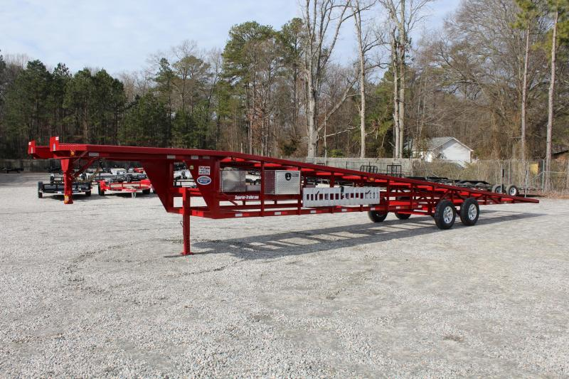 2018 Take 3 48ft Ultra Lite Gooseneck 3 Car Trailer