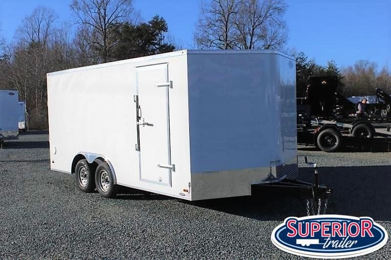 2020 Haulmark Passport 8.5x16 7K  w/ Ramp Door