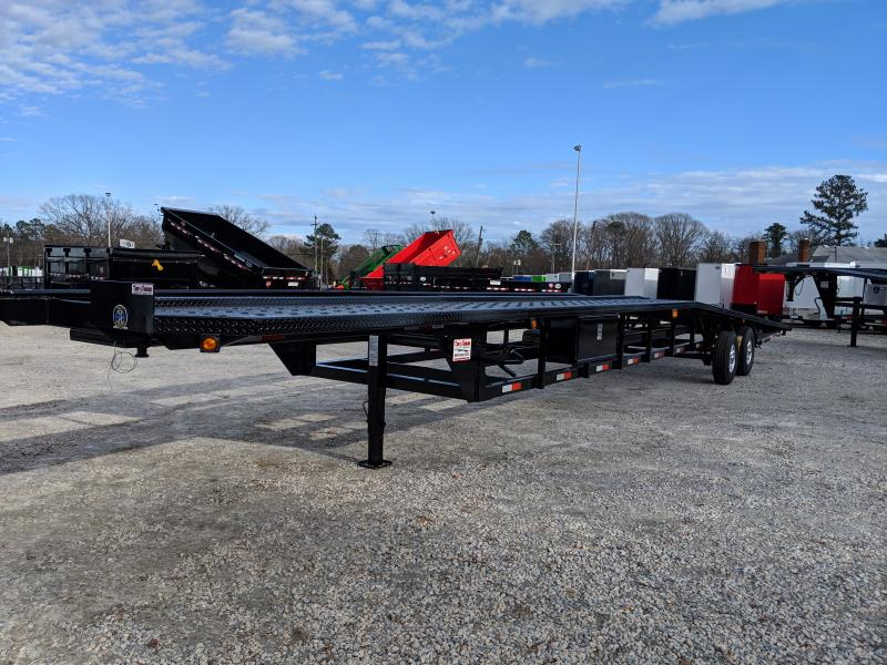 2019 Take 3 48' Low Pro Wedge 3 Car Trailer