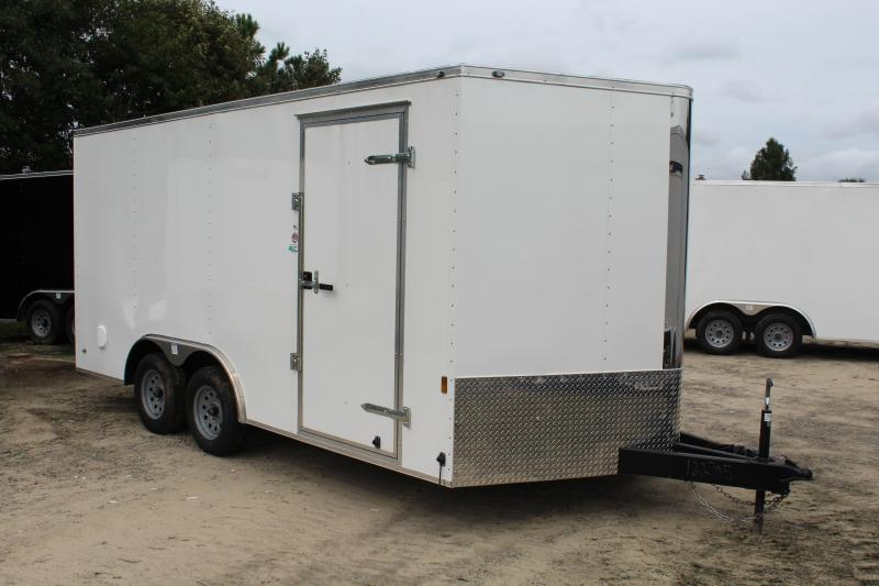 2019 Continental Cargo 8.5X16 7K Enclosed Cargo Trailer