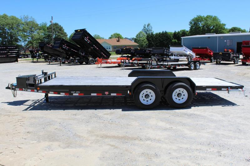 2086 PJ Trailers 20CC 14K w/ 5' Slide-In Ramps