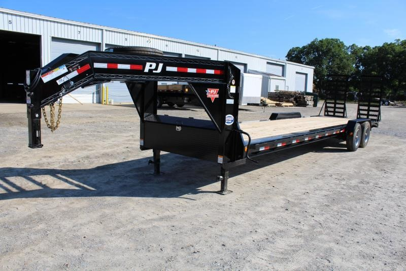 2018 PJ Trailers 30' H5 Equipment Trailer