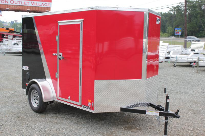 2018 Bravo Scout 6x10 w/ Ramp Door