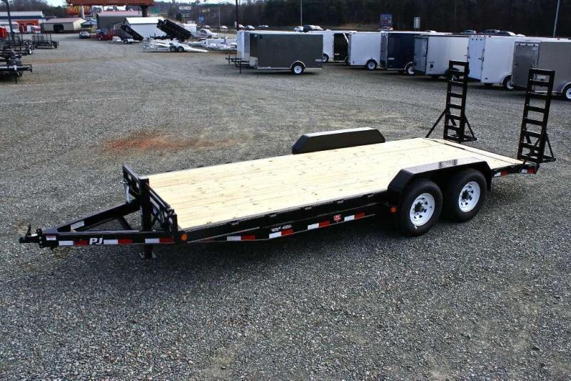 2018 PJ Trailers 20CC 14K w/ Fold Up Ramps