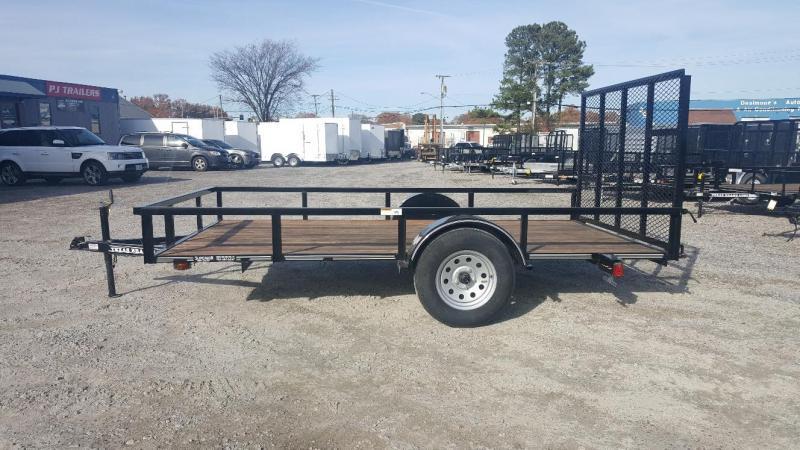 2018 Texas Bragg 6x12LD w/ Gate