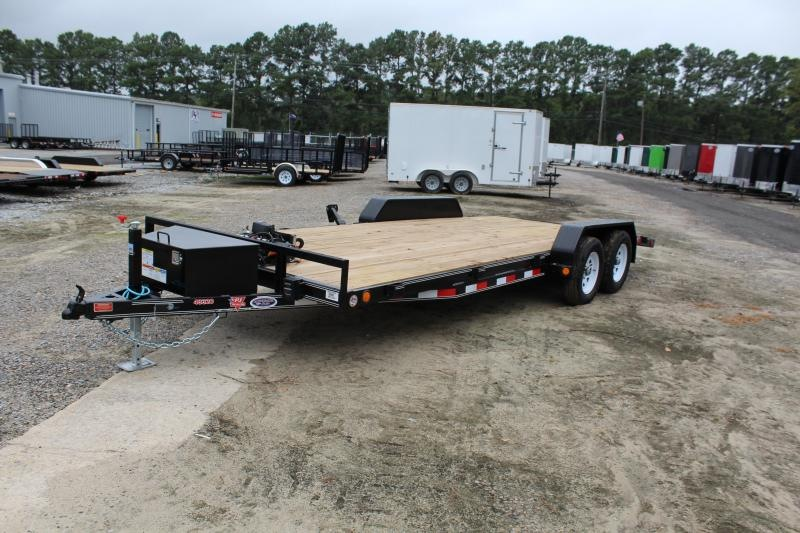 2020 PJ Trailers 20' C4 7K Car / Racing Trailer