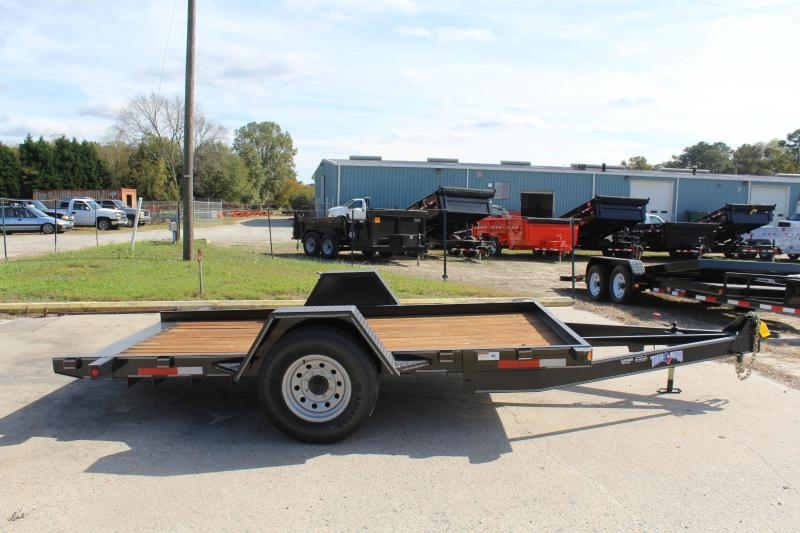 2019 Texas Bragg Trailers 6X12HET 7K Heavy Tilt Equipment Trailer
