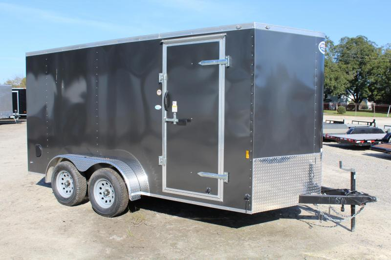 2018 Continental Cargo 7x14 w/ Ramp Door