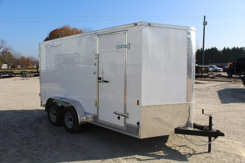 2018 Continental Cargo 7X14 Enclosed Cargo Trailer