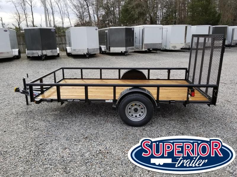 2017 Texas Bragg Trailers 6X12P w/ Gate